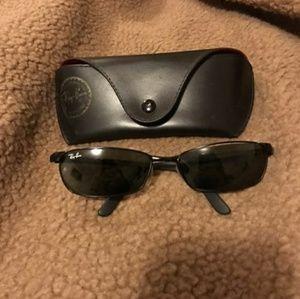 RayBan~Black Glasses